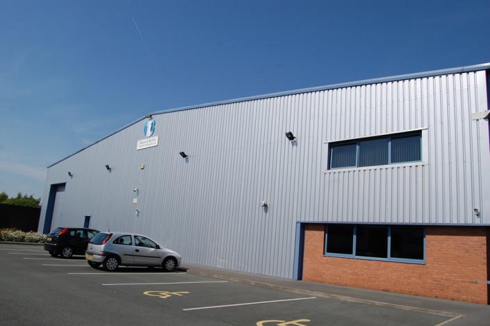 Moore & Buckle Factory Car Park