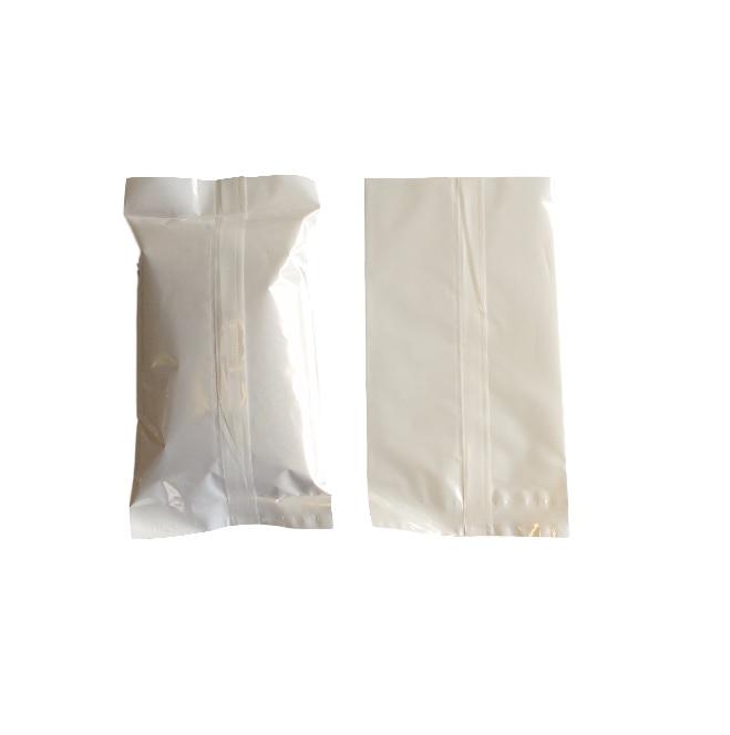 Back Seam Bag made from white OPP