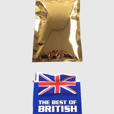 Gold 3 Side Seal Pouch, UK Made