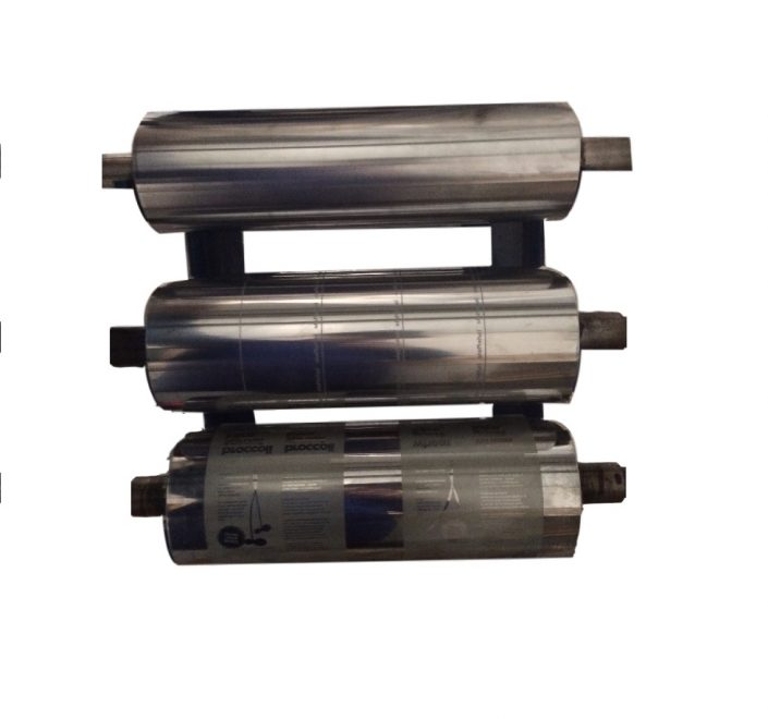 These are gravure printing cylinders to be used on our single colour gravure printer