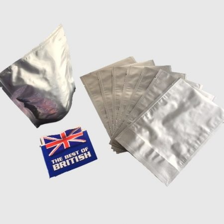 Stand Up Doy Pouch with a Tear Notch, UK made