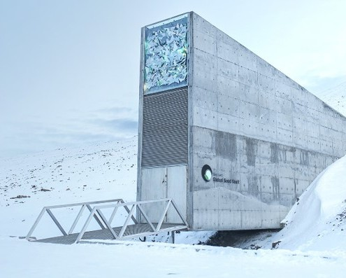 Svalbard Global Seed Bank - Moore & Buckle produce the only pouches allowed to store seeds at the seed bank