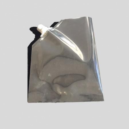 Three Side Seal Bag with Nozzle for pouring liquids
